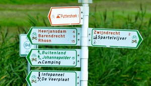 Hiking and cycling routes
