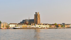 View on city of Dordrecht